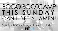BOGO Sunday Ad